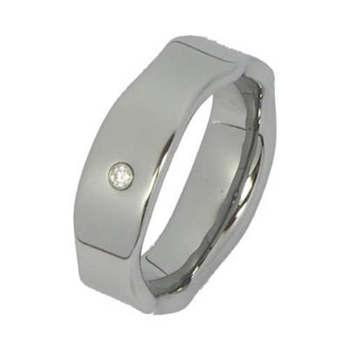 SilberDream Wolfram Ring Gr.20mm Herren Damen Schmuck RXW918