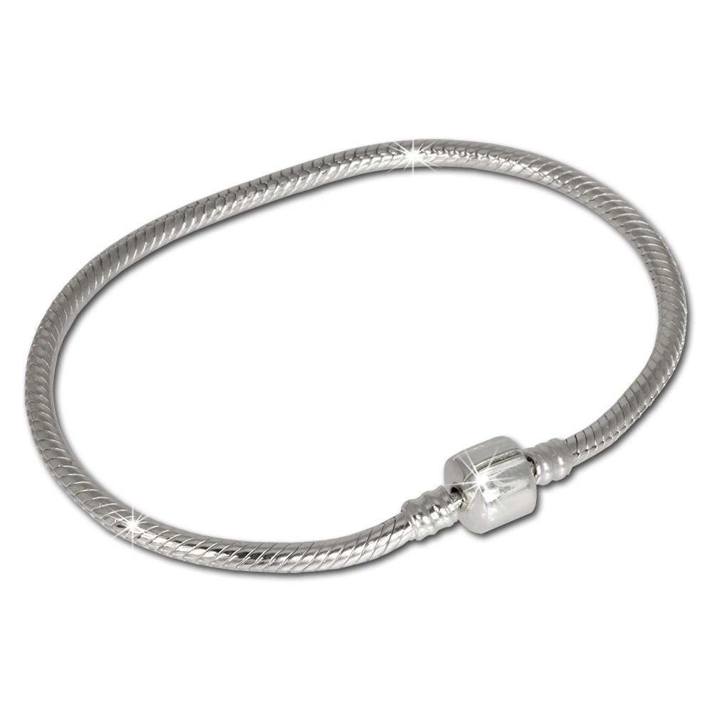 IMPPAC Clip Armband 20cm aus 925 Sterling Silber für Beads SBA004