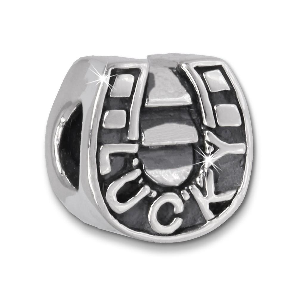 IMPPAC Bead Hufeisen LUCKY 925er Silber Armband Beads SBB332