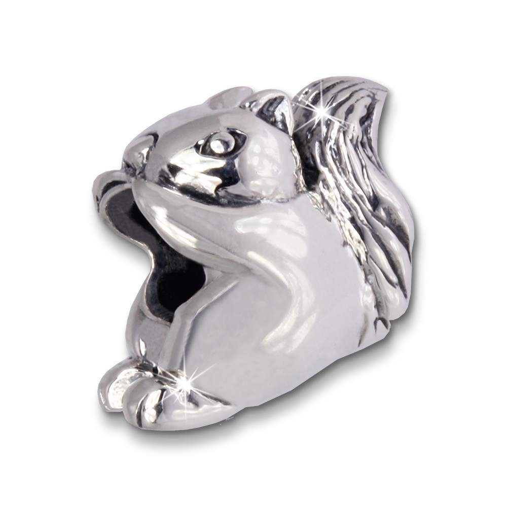 IMPPAC Bead Eichhörnchen 925 Sterling Silber Armband Beads SBB333