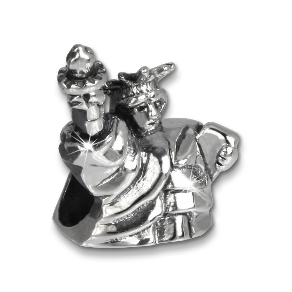 IMPPAC Bead Freiheitsstatue 925er Silber Armband Beads SBB353