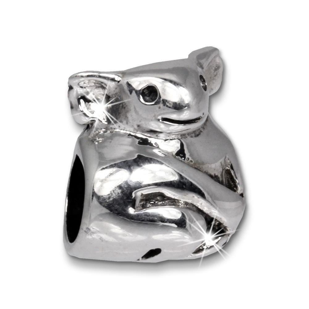 IMPPAC Bead Koala Bär 925 Sterling Silber Armband Beads SBB355