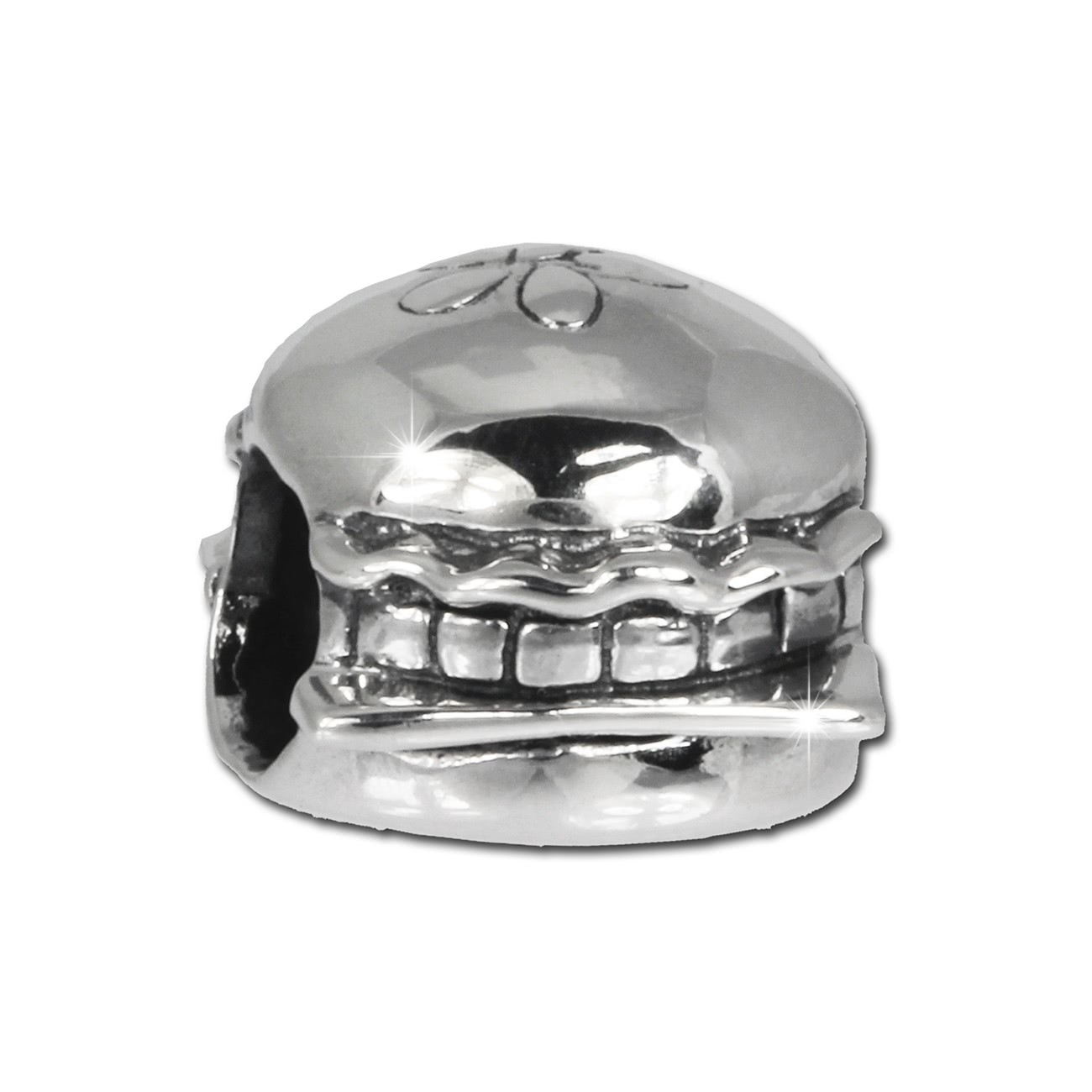 IMPPAC Bead Hamburger 925 Sterling Silber Armband Beads SBB365