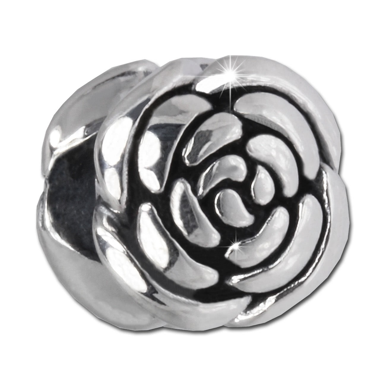 IMPPAC Bead Blume 925 Sterling Silber Armband Beads SBB402