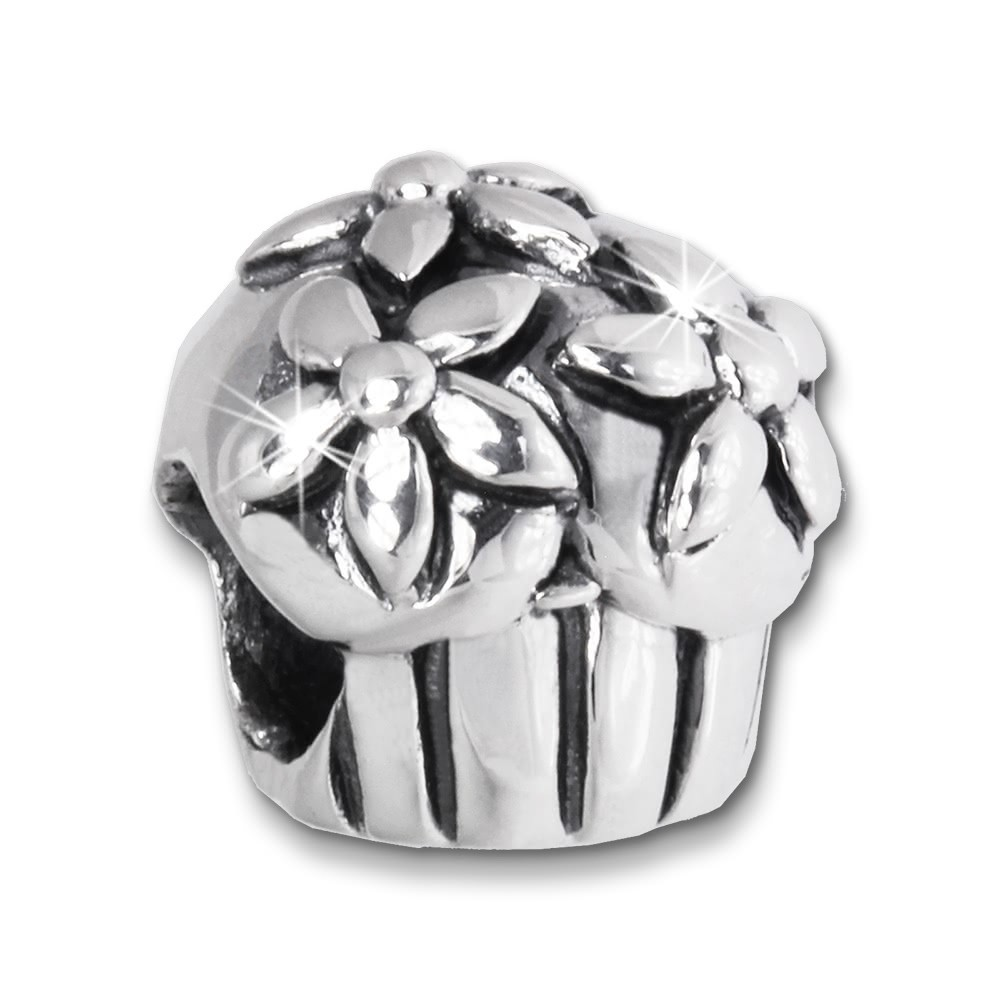 IMPPAC Bead Muffin / Kuchen 925 Sterling Silber Armband Beads SBB452