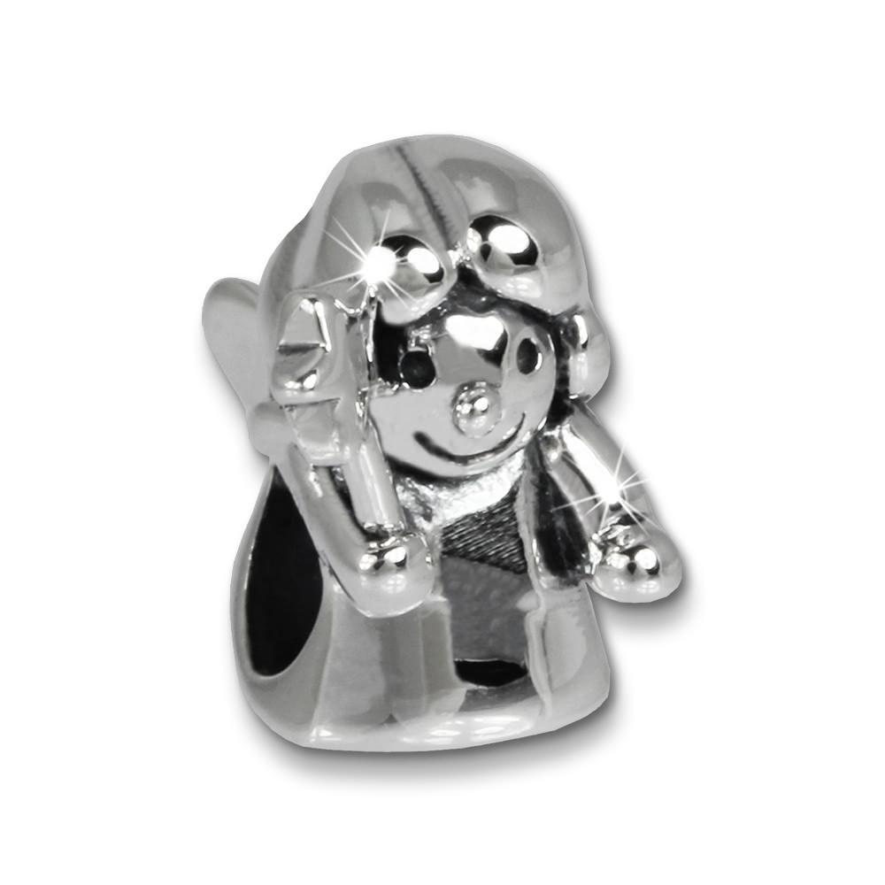 IMPPAC Bead Engel 925 Sterling Silber Armband Beads SBB457