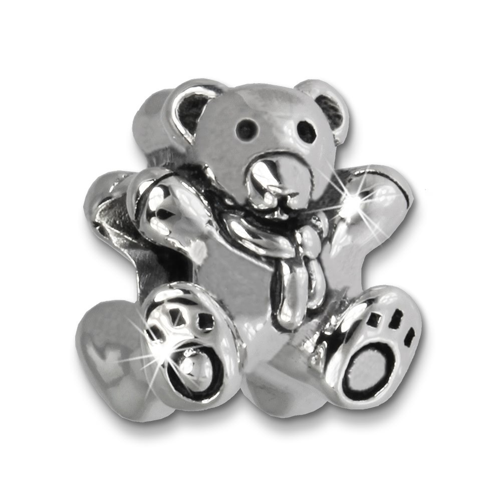 IMPPAC Bead Teddybär 925 Sterling Silber Armband Beads SBB484