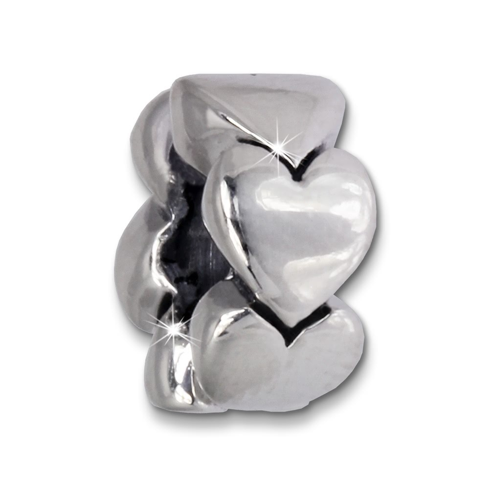 IMPPAC Bead Herzrad 925 Sterling Silber Armband Beads SBB535
