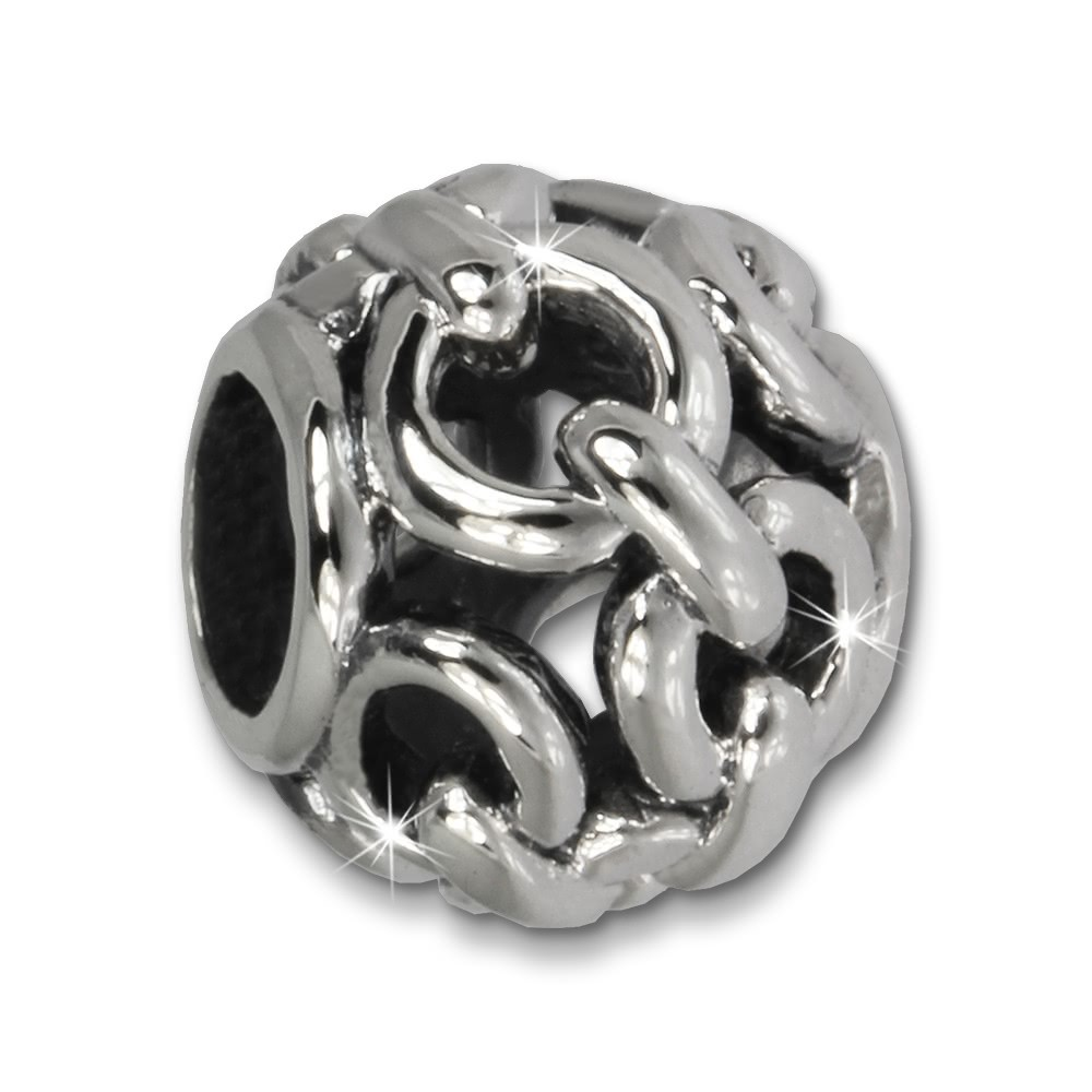 IMPPAC Bead Kettenball 925 Sterling Silber Armband Beads SBB632