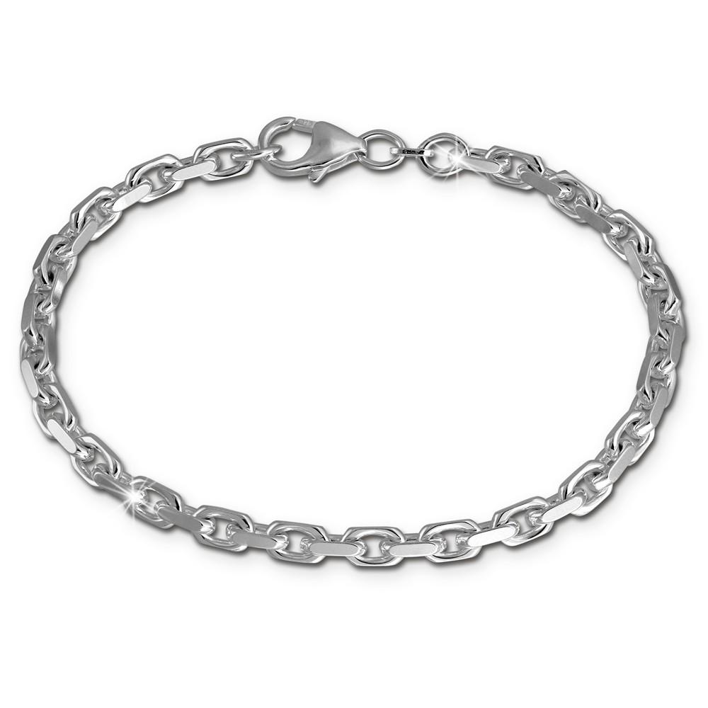 SilberDream Armband Anker 925 Sterling Silberarmband Unisex 19cm SDA2339J