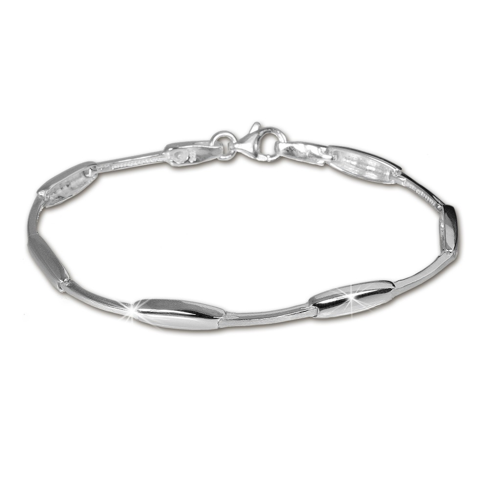 SilberDream Armband Design 925 Sterling Silber 19,3cm Silberarmband SDA404