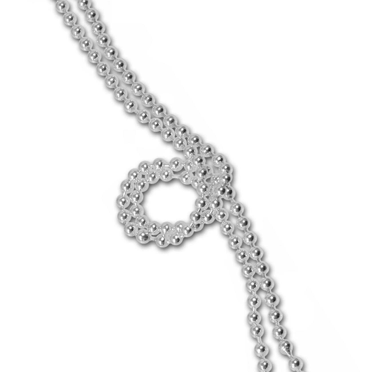 SilberDream 925 Sterling Silber Kette 45cm SDK00645