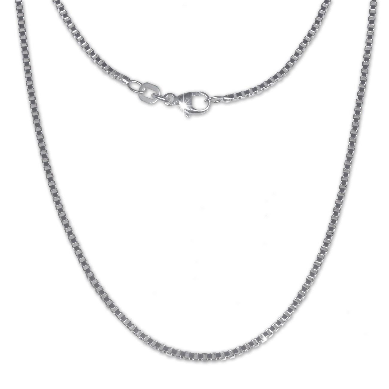 SilberDream Veneziakette 925er Silber Halskette 70cm Kette SDK21270