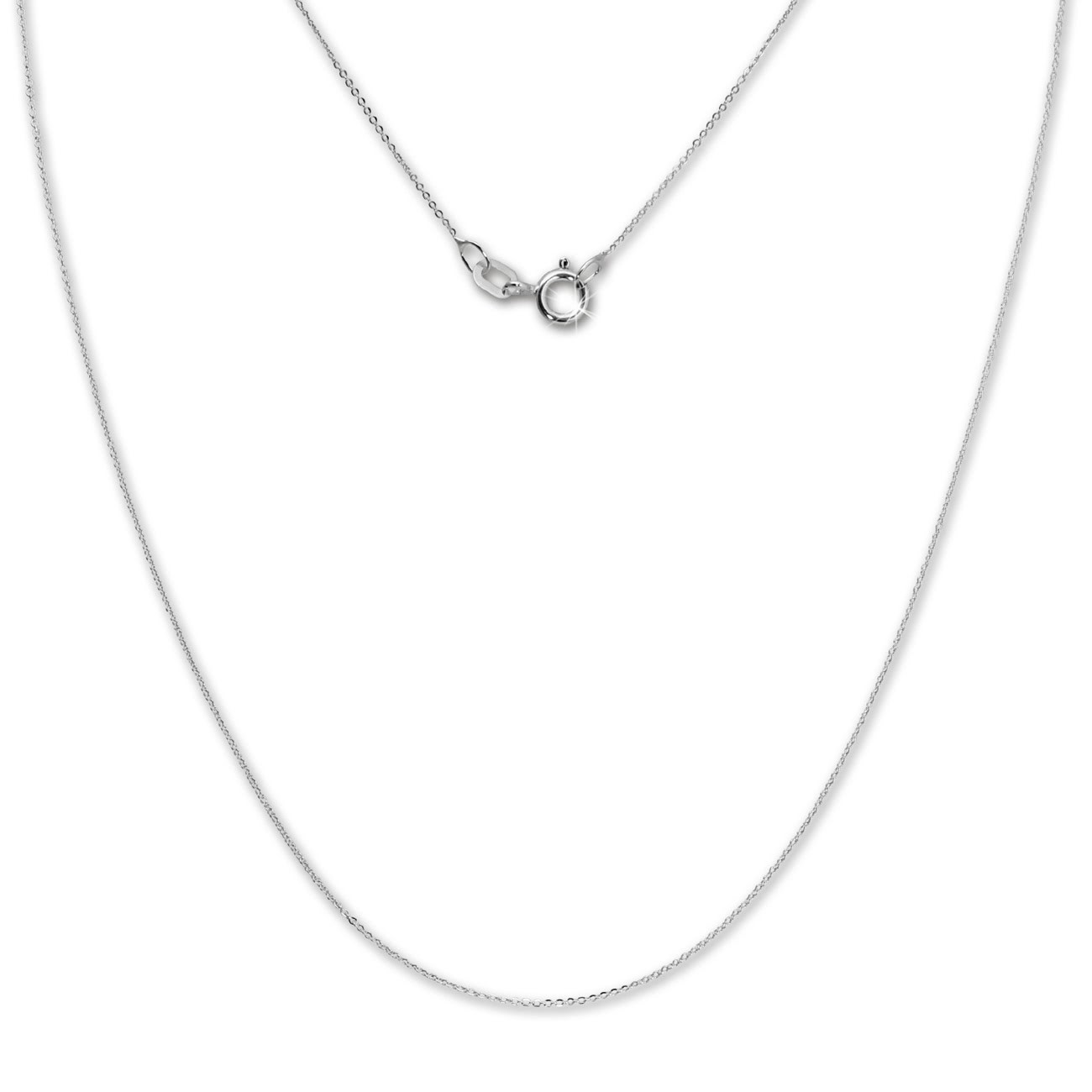 SilberDream Kette Anker flach 45cm silber 925 Silber Damen SDK26145J