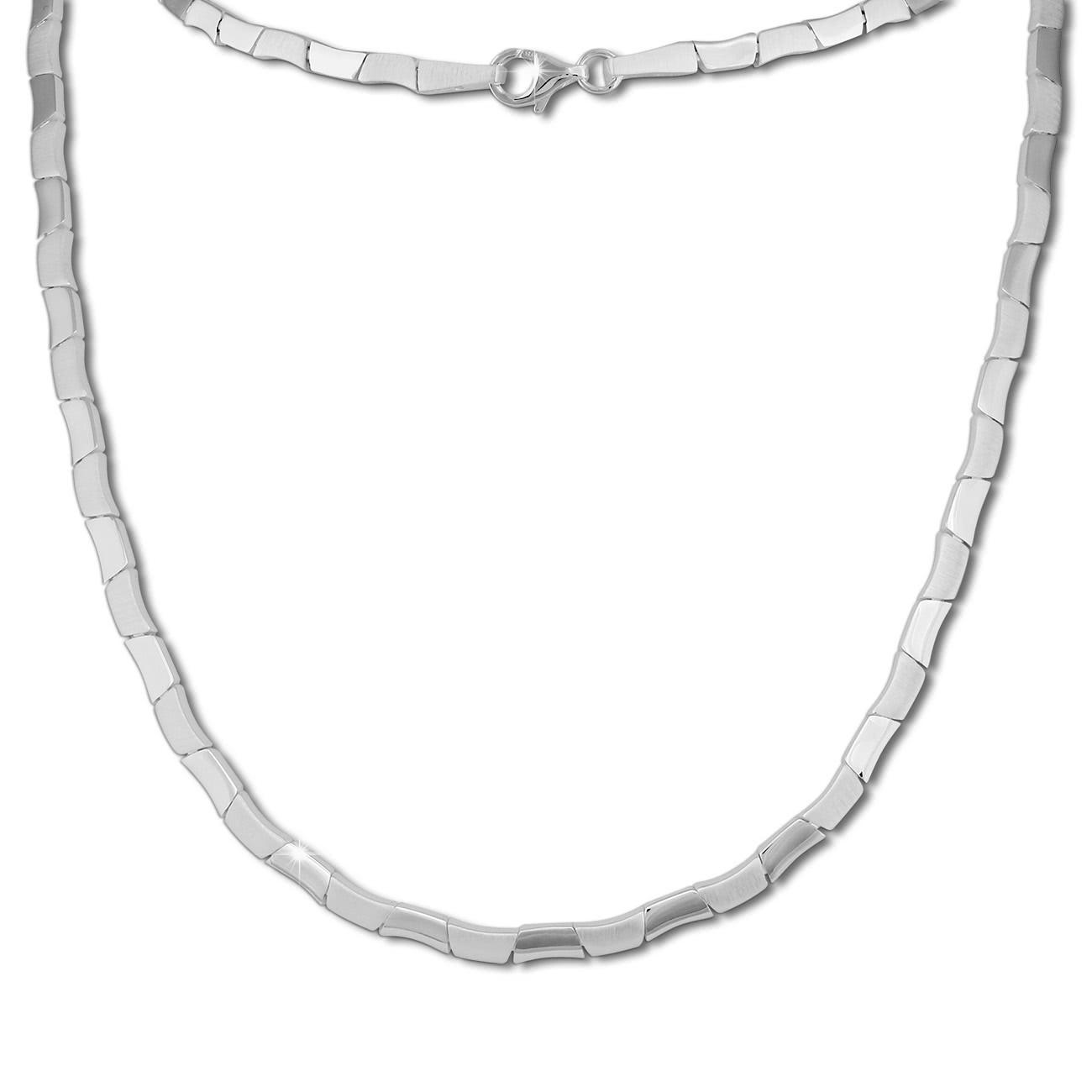 SilberDream Collier Kette Design 925 Silber 45cm Halskette Damen SDK427