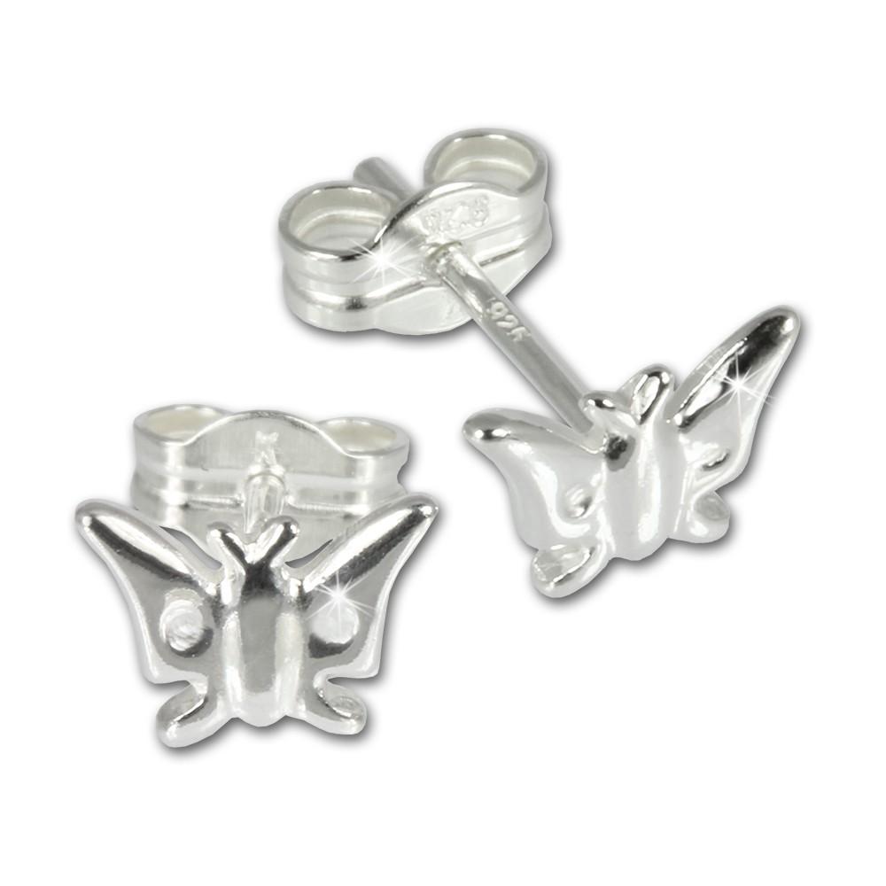 SilberDream Ohrringe Schmetterling 925er Silber Ohrstecker SDO516