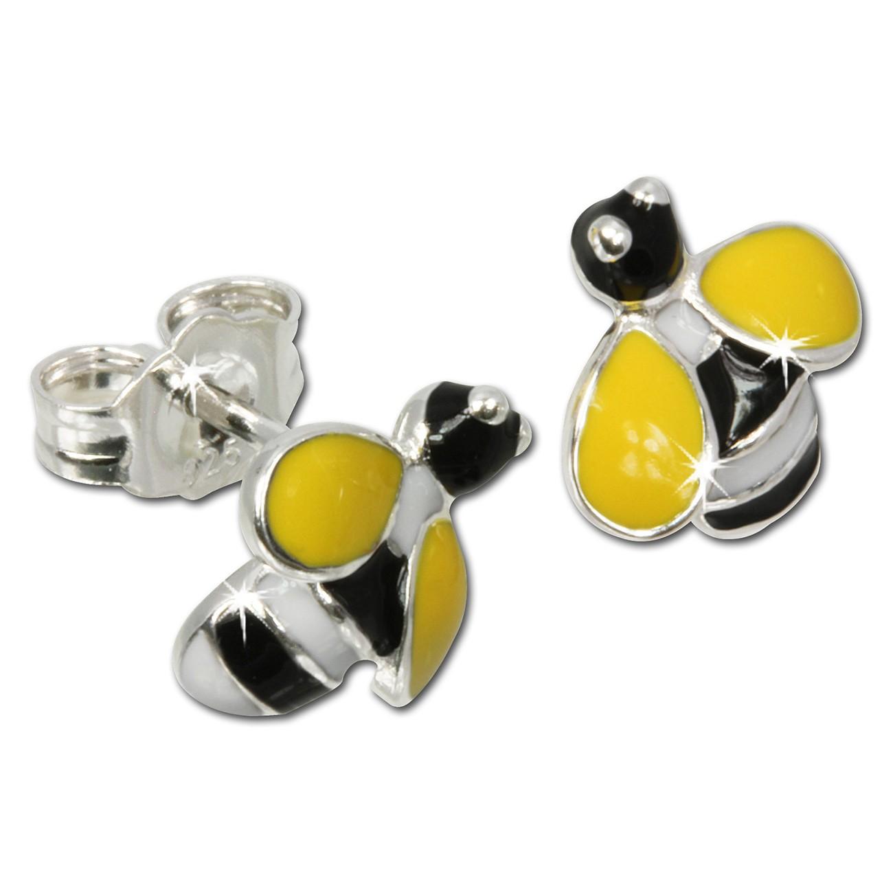 Kinder Ohrring Biene 925er Ohrstecker Kinderschmuck TW SDO603Y