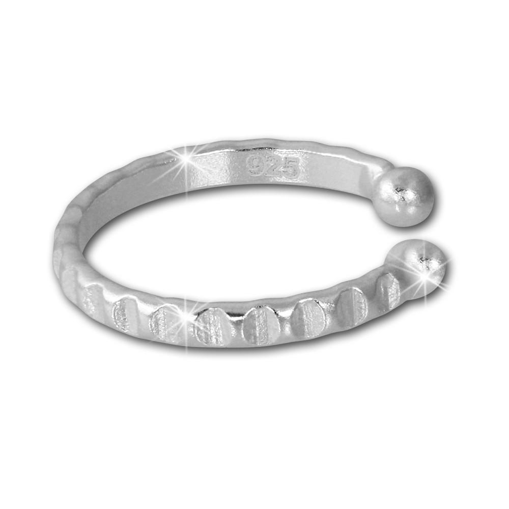 SilberDream Ohrklemme Ring Ear Cuff 925 Sterling Silber Fake Piercing SDO8873J