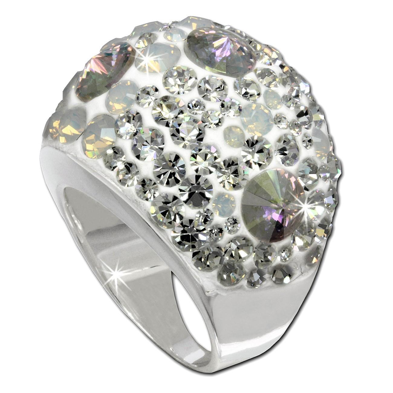 SilberDream Ring Glamour Zirkonia Gr.19 925er Silber SDR014W9