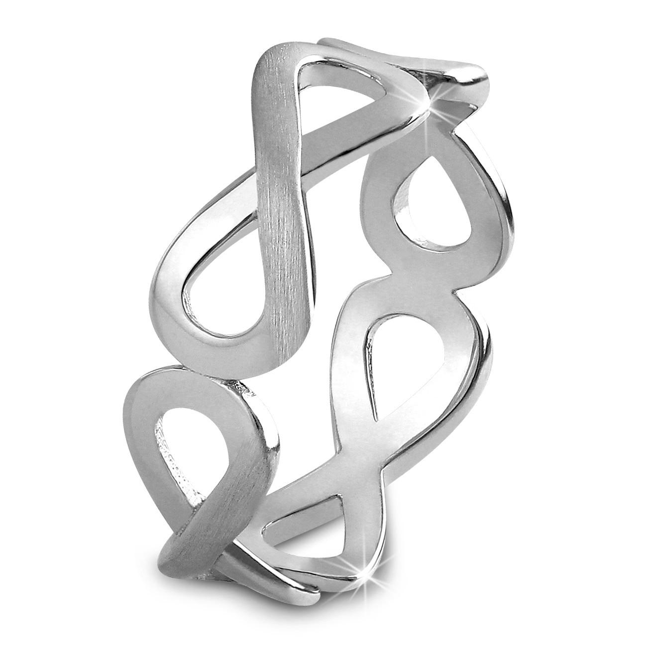 SilberDream Ring Unendlichkeit Gr. 54 Sterling 925er Silber SDR401J54