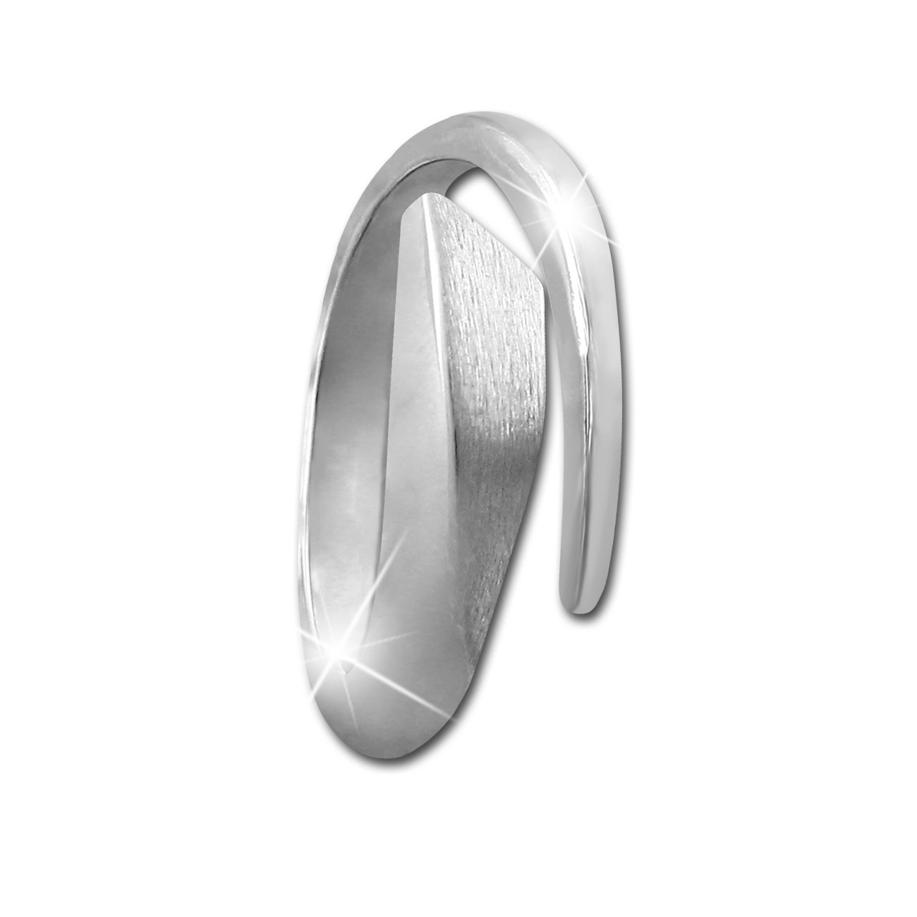 SilberDream Ring zeitlos Gr. 60 Sterling 925er Silber SDR403J60