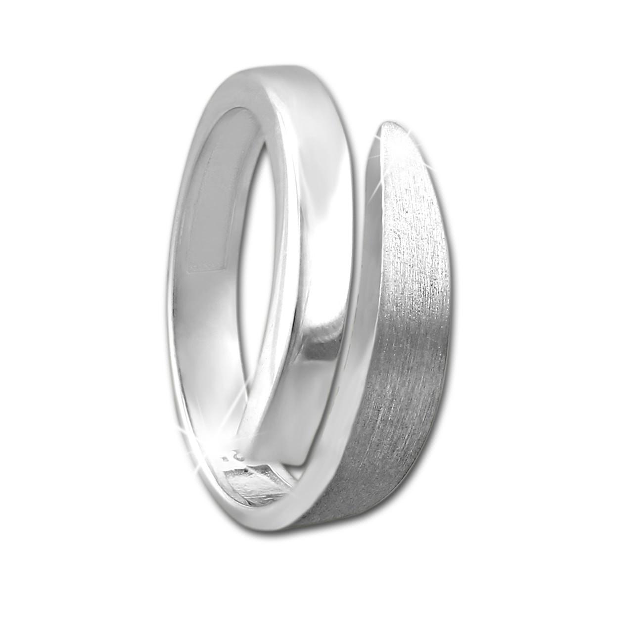 SilberDream Ring klassisch Gr. 52 Sterling 925er Silber SDR404J52