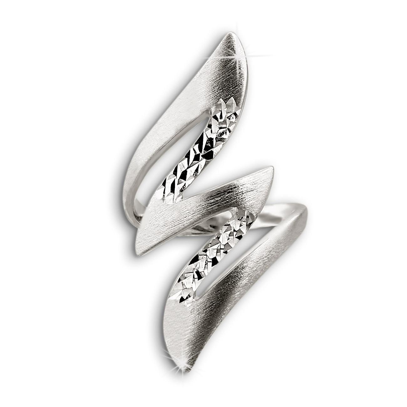 SilberDream Ring Blitz Gr. 52 Sterling 925er Silber SDR405J52