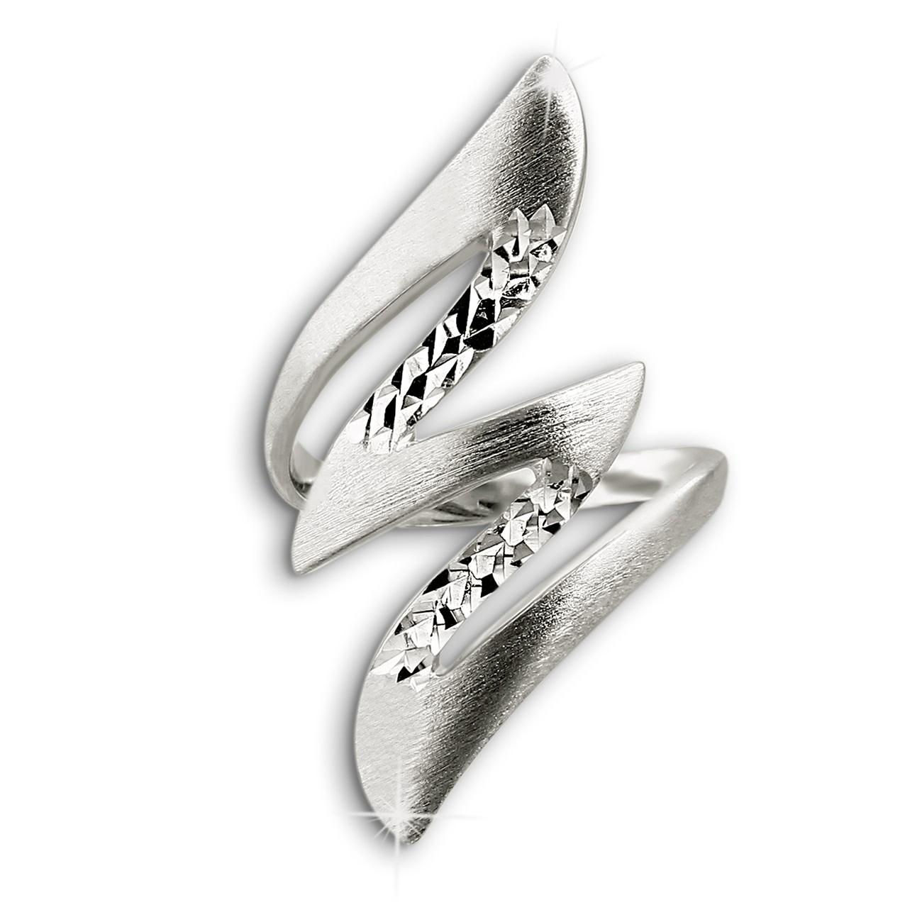 SilberDream Ring Blitz Gr.54 Sterling 925er Silber SDR405J54