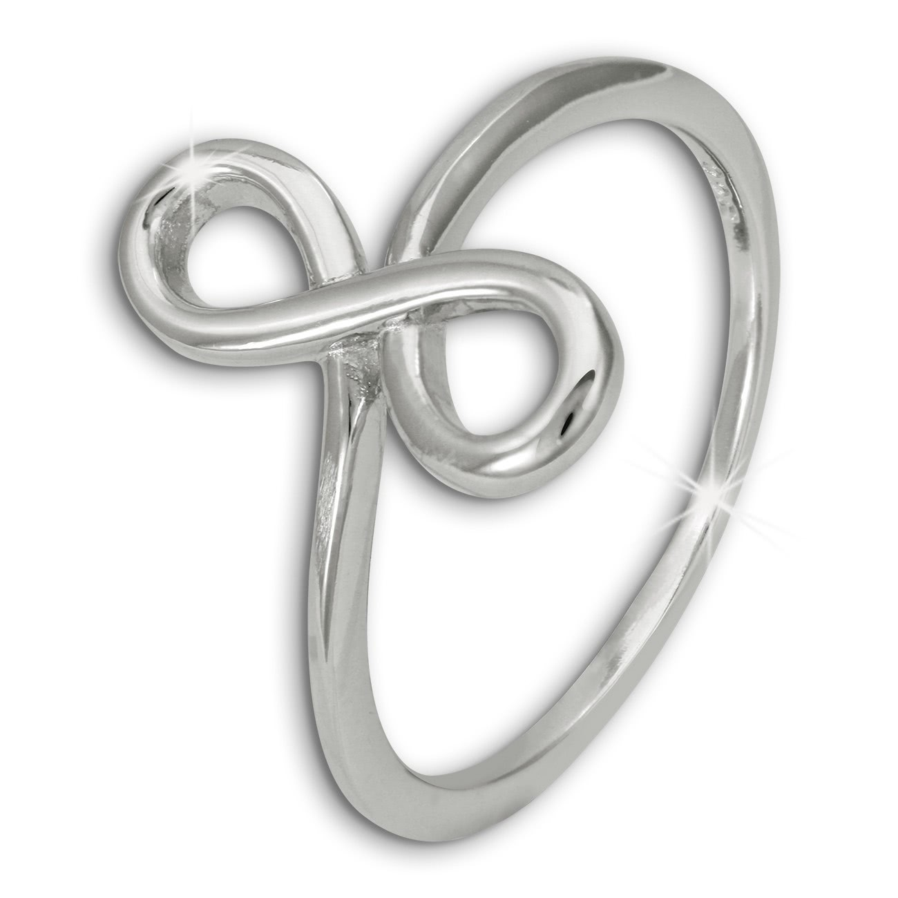 SilberDream Ring Unendlichkeit Gr. 54 Sterling 925er Silber SDR451J54
