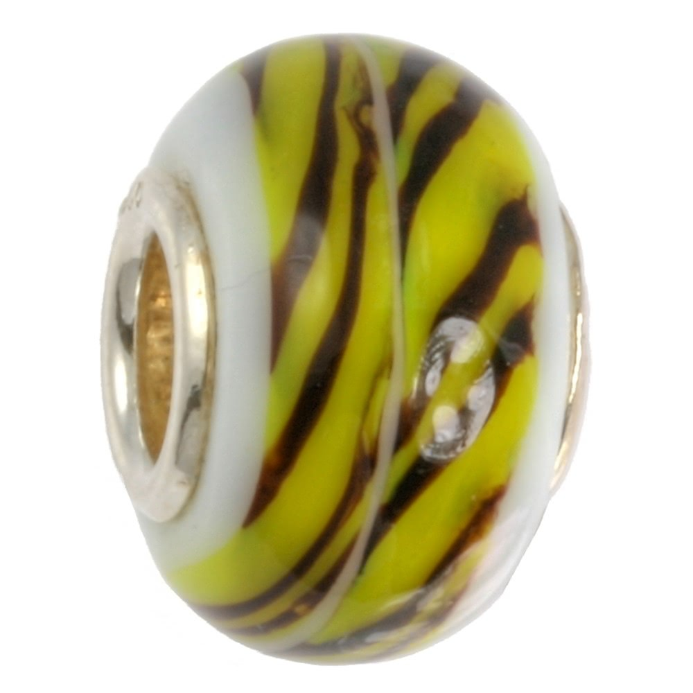 IMPPAC Glas Bead 925 Spacer Tiger European Beads SMB0128