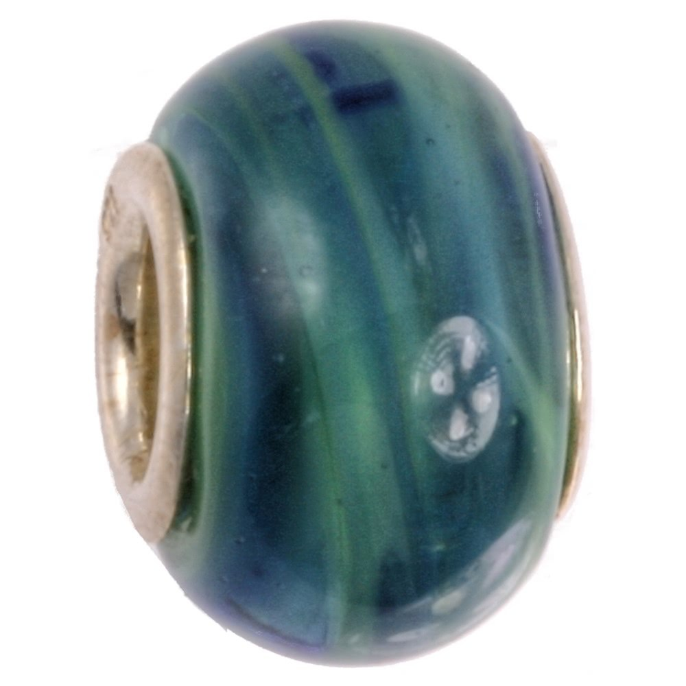IMPPAC Glas 925 Bead Spacer Wirbel European Beads SMB0201
