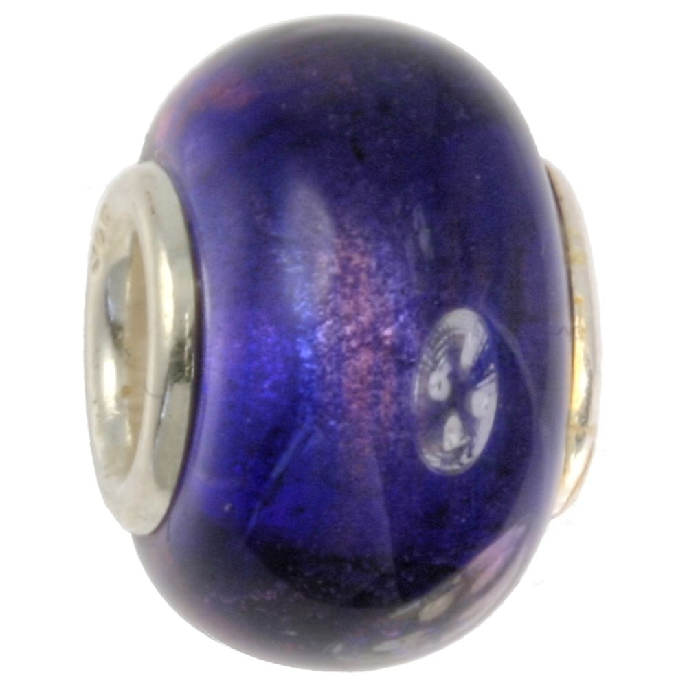 IMPPAC Glas 925 Bead Spacer Mystic European Beads SMB0207