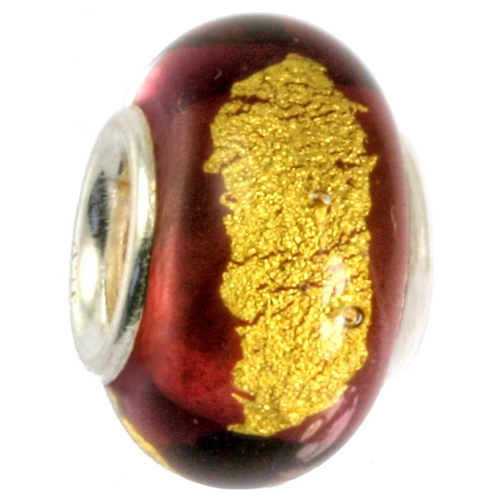 IMPPAC Glas 925 Spacer flieder European Beads SMB0313