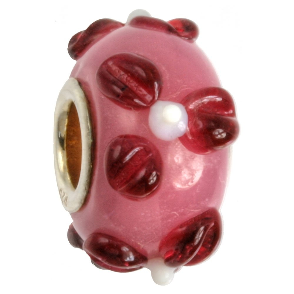 IMPPAC Glas Bead 925 Spacer Lotus European Beads SMB1106