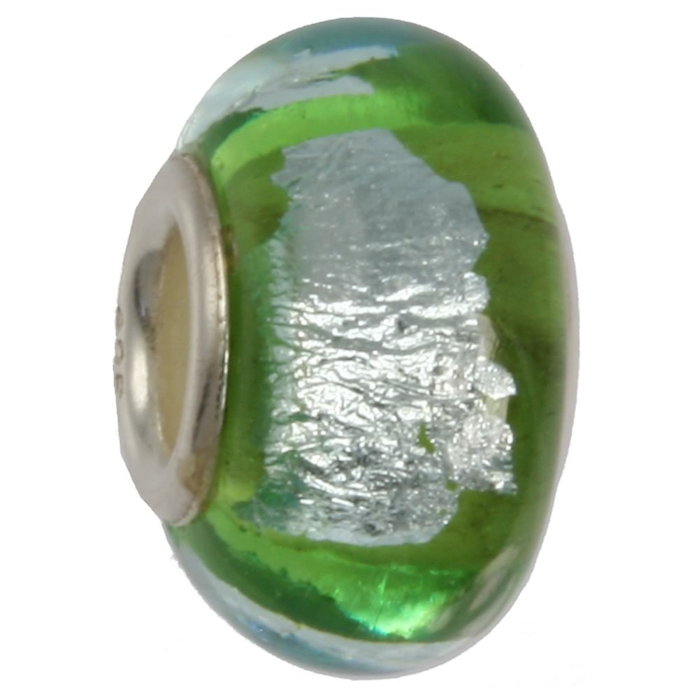 IMPPAC Glas 925 Bead Spacer apple European Beads SMB8014