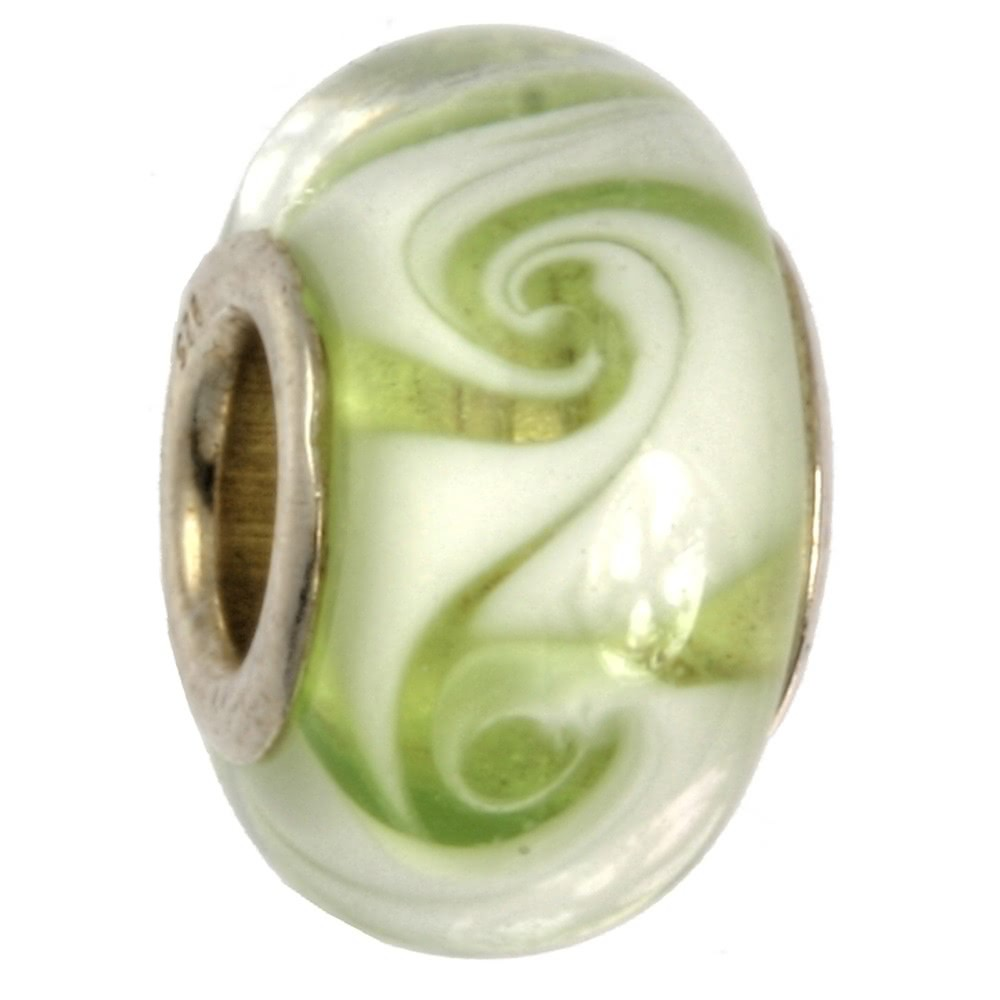 IMPPAC Glas 925 Bead Spacer twirly European Beads SMB8054