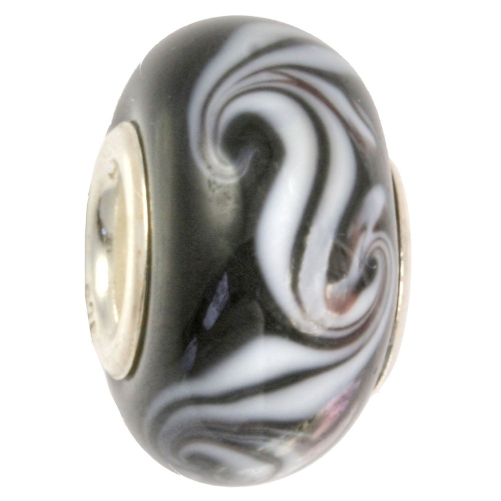 IMPPAC Glas 925 Bead Spacer foggy European Beads SMB8060
