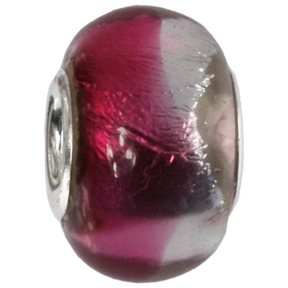 IMPPAC Glas 925 Bead Spacer pink European Beads SMB8090
