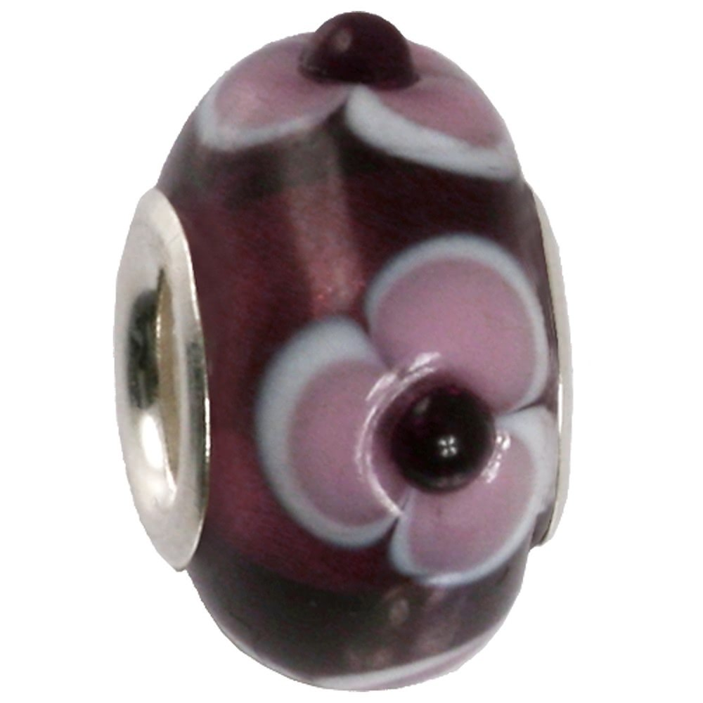 IMPPAC Glas 925 Bead Spacer Blume European Beads SMB8092