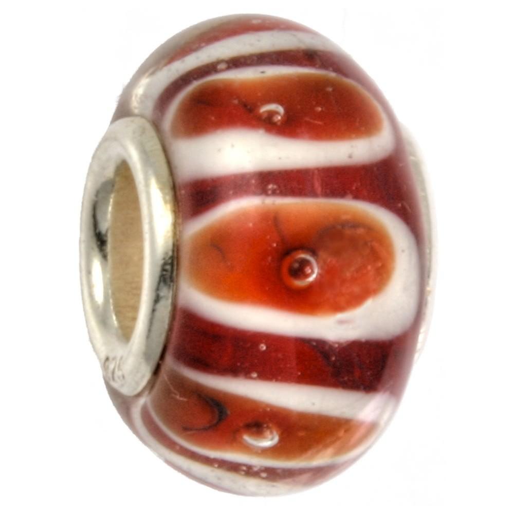 IMPPAC 925er Glas Spacer Bändchen European Beads SMB9008