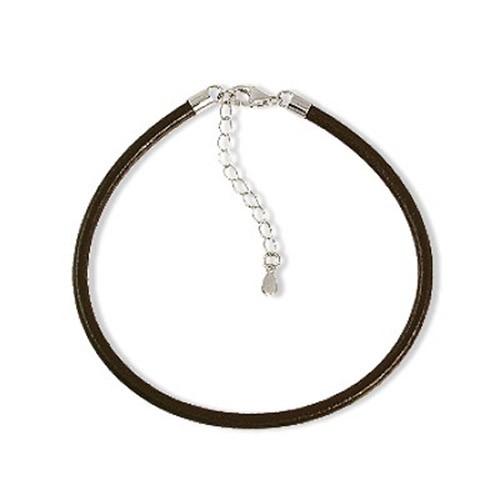 IMPPAC Leder Armband Silber für European Beads SMDA21CLN