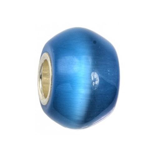 IMPPAC Cateye Stein silber Bead fü Imppac Biagi Armband SMDE31