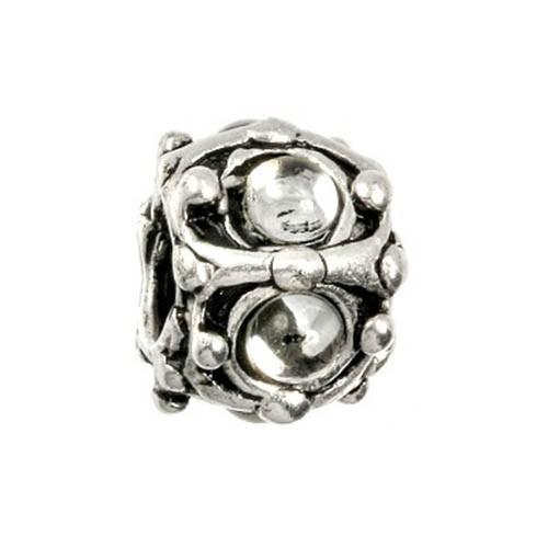 IMPPAC 925 Bead Kristall Antike European Beads SMP993W