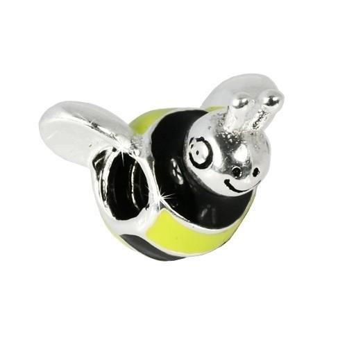IMPPAC 925 Silber Bead Modul Biene European Beads SMQ406