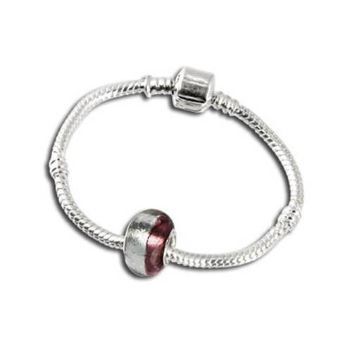 IMPPAC Armband mit Glas Bead European Beads SMW010