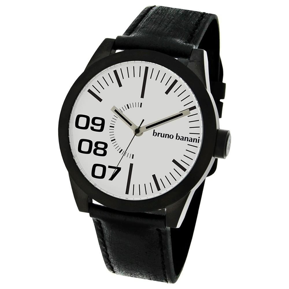 Bruno Banani Herren Uhr evo silber Taras Gents Uhren UBR26111W