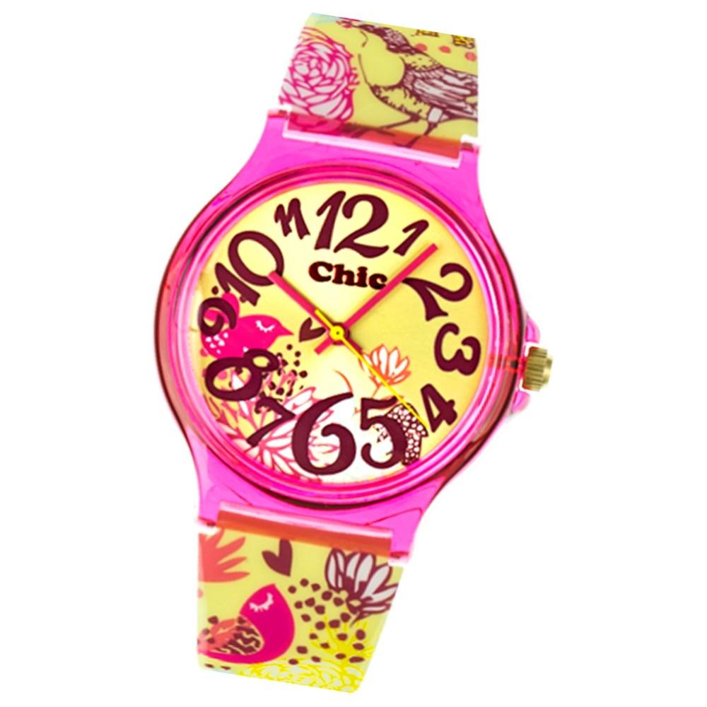 Chic-Watches Damenuhr Vogelgeflüster Armbanduhr Chic Lady-Uhren UC010