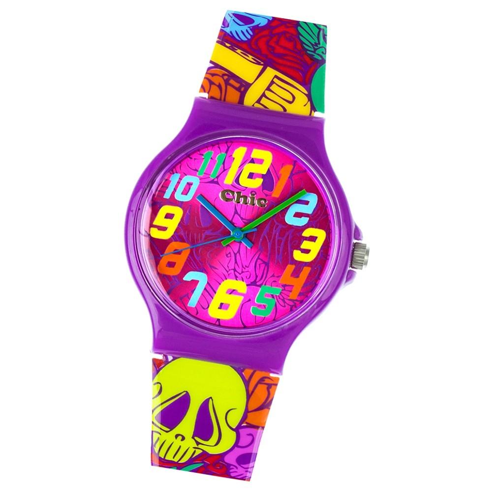 Chic-Watches Damenuhr Totenkopf Armbanduhr Chic Lady-Kollektion UC011