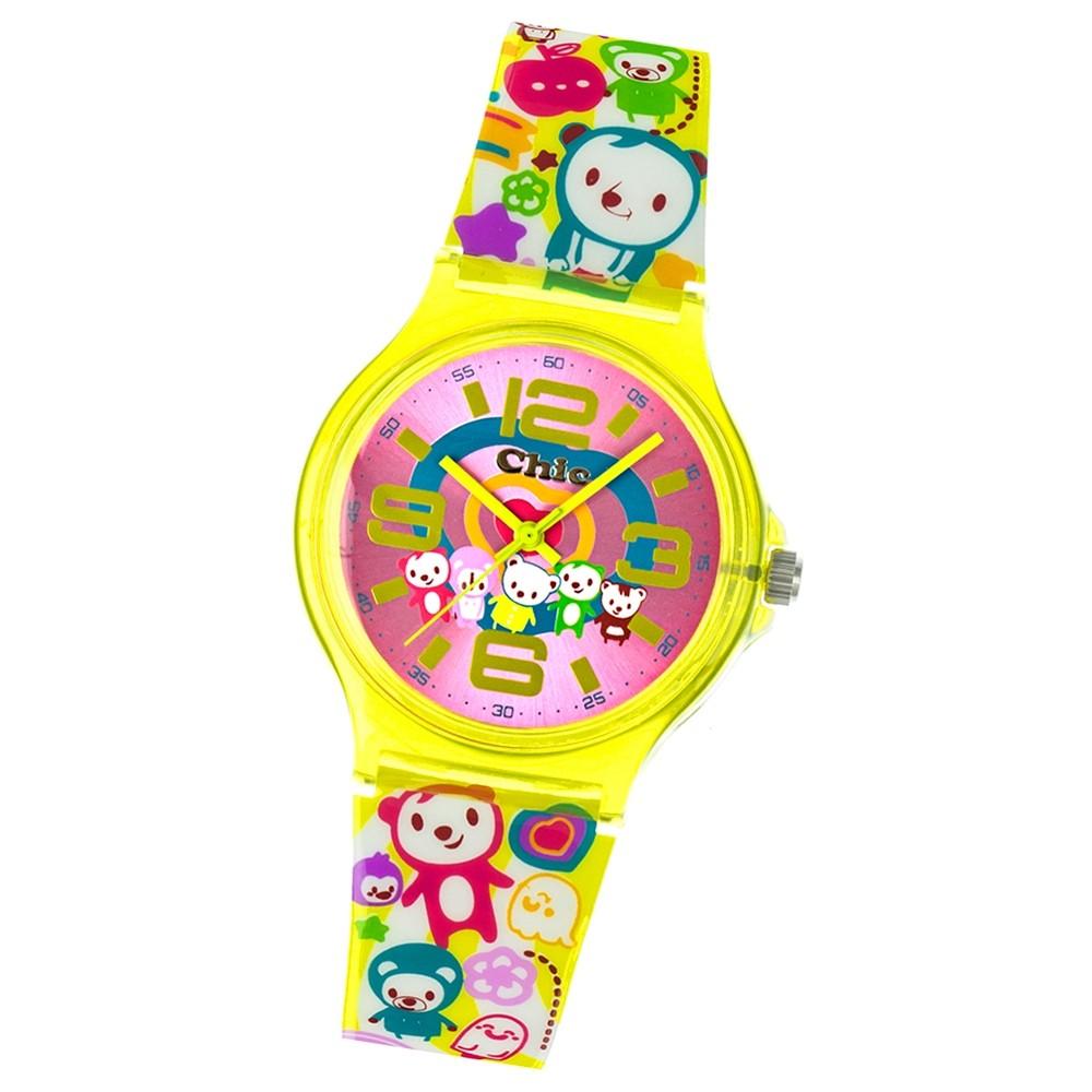 Chic-Watches Damenuhr Crazy Teddy Armbanduhr Chic Lady-Uhren UC027
