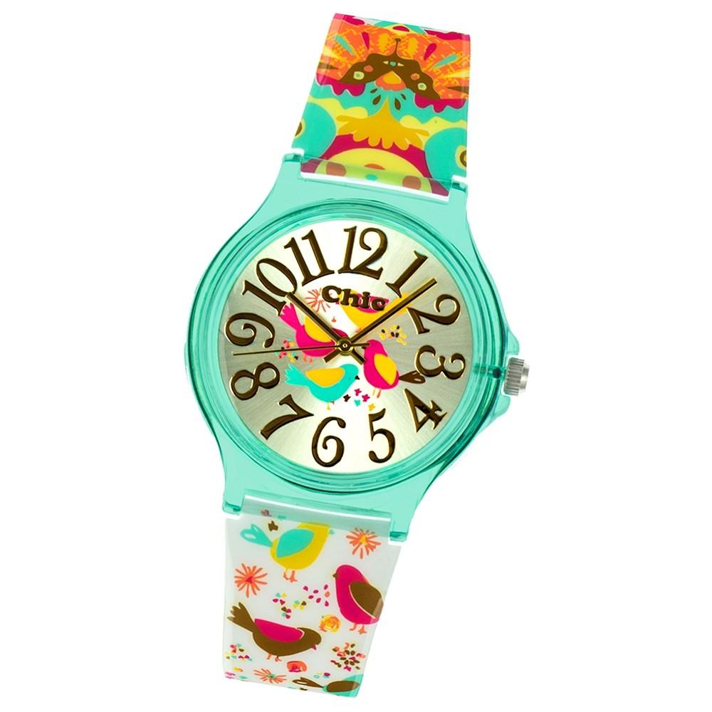 Chic-Watches Damenuhr Anime Style Vogel Armbanduhr Chic Lady-Uhr UC029